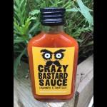 Crazy Bastard Yellow Label Habanero & Tomatillo Sauce